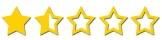 1half star